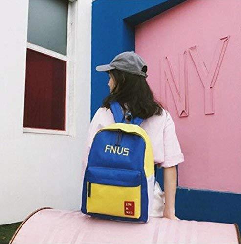 YHUJH Home Creative Brief Outdoor-Aktivitäten Rucksack Hübscher Rucksack Fashion Student Schoolbag