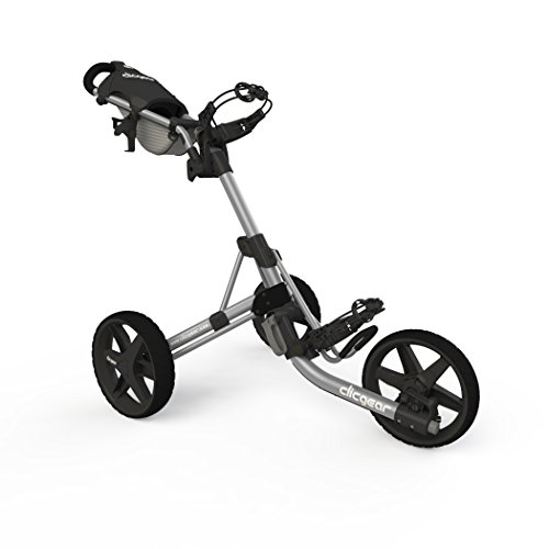 Golf Push Pull Carts - Clicgear 3.5+ Push Cart, Silver