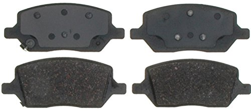 ACDelco 14D1093CH Advantage Ceramic Rear Disc Brake Pad Set with Hardware