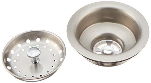 Franke 4010856 Stainless Steel Strainer, 3', Satin Nickel
