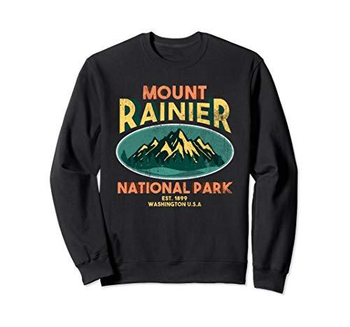 Mount Rainier National Park WA USA Mountains Hike Sweatshirt