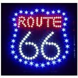 ROUTE 66 Super Bright Led Sign 19X19