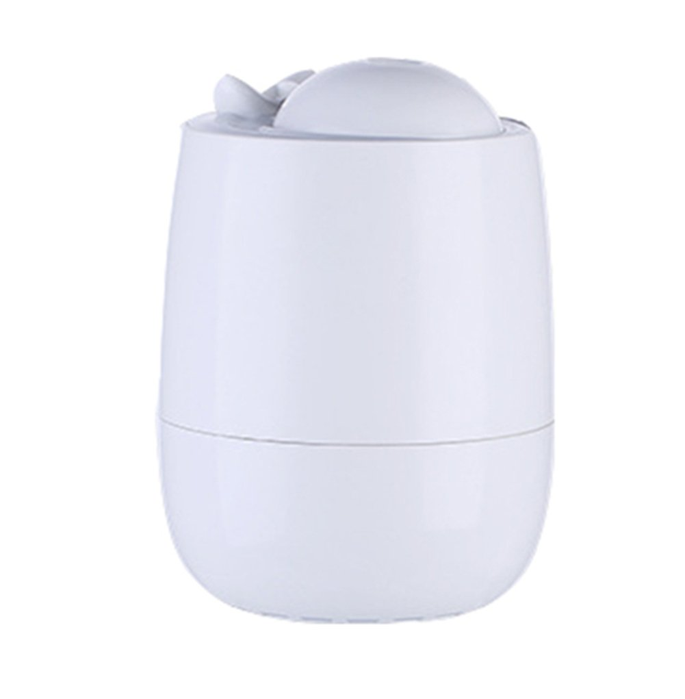 Aromatherapy Essential Oil Diffuser Cool Mist Humidifier 300Ml Ultrasonic LED Light Perfect For Home,Office,Living Room,Spa,Car,White