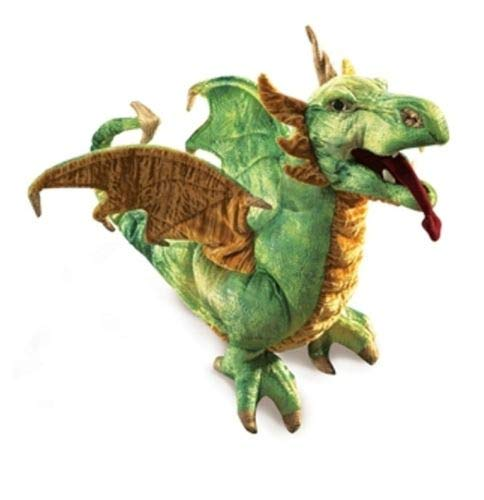 Wyvern Dragon Hand Puppet by tokoallthingstoystore (Image #1)