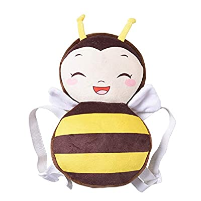 Amazingdeal Cute Baby Head Protection Pad Toddler Anti-Fall Headrest Pillow (S Bee)