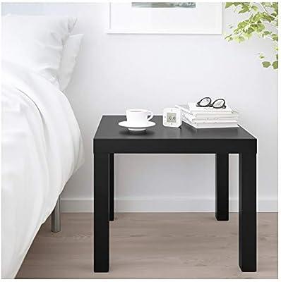 IKEA Lack Mesa Auxiliar (Negro): Amazon.es: Hogar