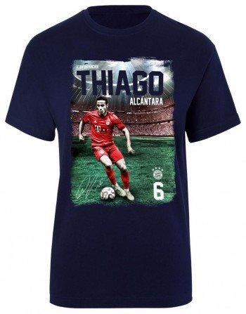new concept 1992f 3af29 FC Bayern Thiago T Shirt, Kids Size:128 (EU): Amazon.co.uk ...