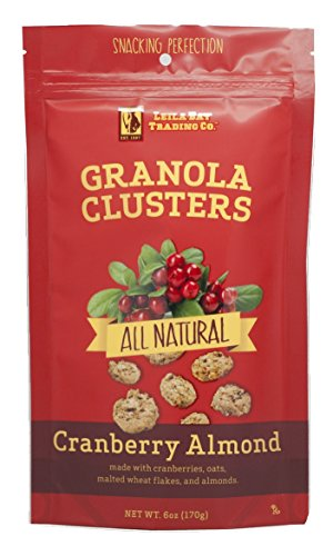- Leila Bay Trading Company Granola Clusters, Cranberry Almond, 6 Ounce