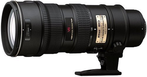 Nikon AF-S VR Zoom Nikkor ED 70-200mm F2.8G (IF) ブラック   B00008Y82Y