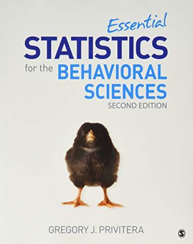 BUNDLE: Privitera: Essential Statistics for the Behavioral Sciences, Second Edition (Paperback) + SPPS v24 (Essentials Of Statistics For The Behavioral Sciences)