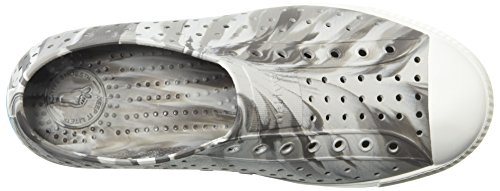 Native Kids Marbled Jefferson Water Proof Shoes, Dublin Grey/Shell White/Marbled, 5 Medium US Big Kid by Native Shoes (Image #8)