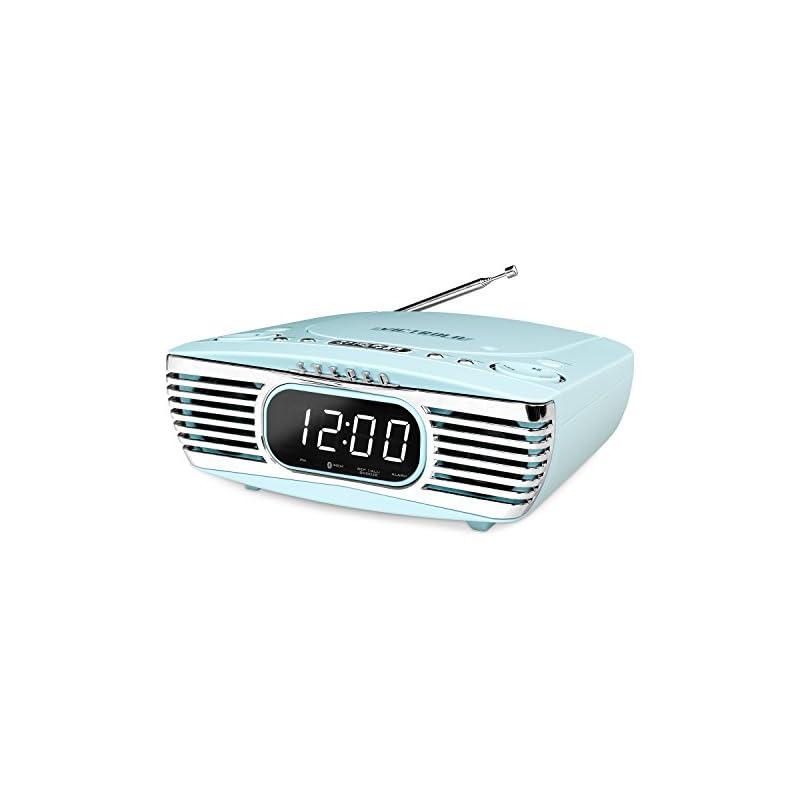 Victrola Bedside Digital LED Alarm Clock