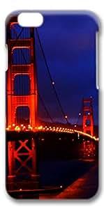 iPhone 6 Case, Custom Design Covers for iPhone 6 3D PC Case - Bridge In Night