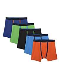 Fruit of the Loom Big Boys' 5 Pack Breathable Boxer Brief