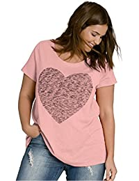 Women's Plus Size Love Tee