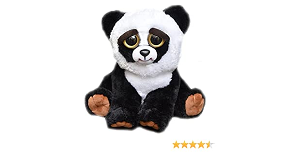 Feisty Pets by William Mark- Black Belt Bobby Adorable 21.5cm Plush Stuffed Panda That Turns Feisty With a Squeeze! by William Mark: Amazon.es: Juguetes y ...