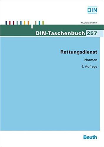 Rettungsdienst (DIN-Taschenbuch)