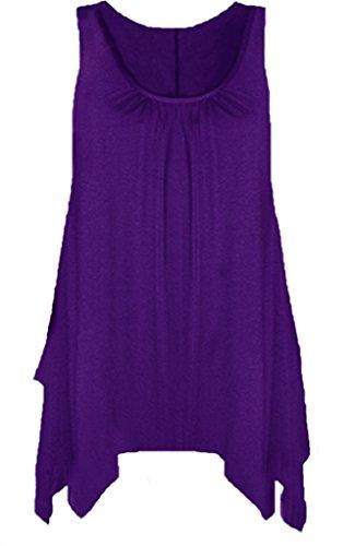 Femme empire Boutique Chemisier Violet Taille Violet Ap68q