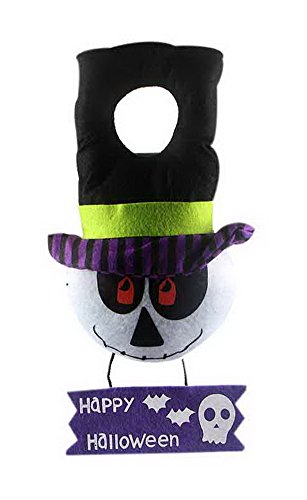 Halloween Funny Stuff (Halloween Decorative Props Festival Party Supplies Scary Ghost Hanging Door Ring)