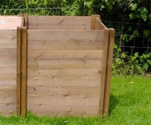 Superior Compacto para compost (madera módulo de extensión 75 x 72 ...