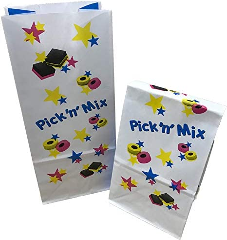 Sun Packaging Pick n Mix Bags *Allsorts* 100 pack of 10 75 x 230mm 60gsm