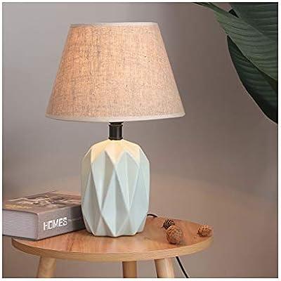 DIAOSI Table Lamp Lámpara de Mesa nórdica Dormitorio Lámpara ...