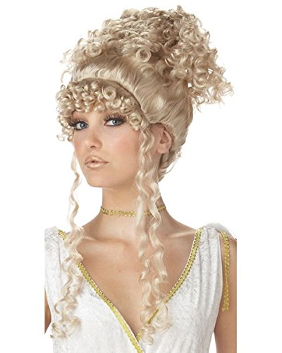 Athenian Goddess Blonde Wig Costume ()
