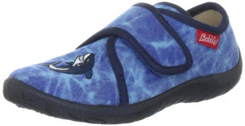 Beck Shark 627 Jungen Hausschuhe Blau (Dunkelblau)