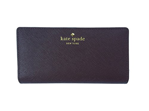 Kate Spade New York Mikas Pond Avenue Stacy Leather Wallet (Soft Aubergine) by Kate Spade New York