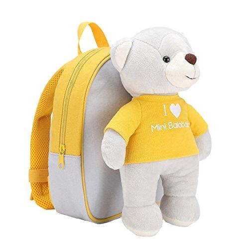 a1a84d7ffa Minibalabala Toddler Kids Backpack Waterproof Cute School Travel Backpack  Multicolored (Khaki)