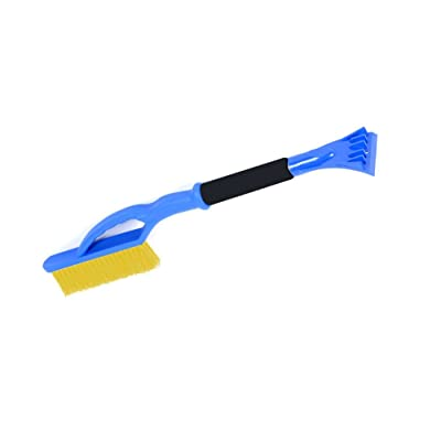 Superio 414 Car Snow Brush with Ice Scraper, One Size, Blue: Garden & Outdoor [5Bkhe0404355]