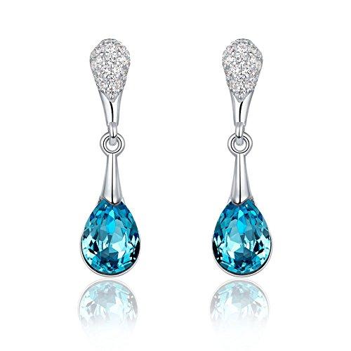 orecchini in argento con zaffiri orecchini pendenti in cristallo_la promozione del primo giorno tratta orecchini di diamanti_orecchini in argento sterling gioielli da sposa orecchini da sposa orecchini regali,