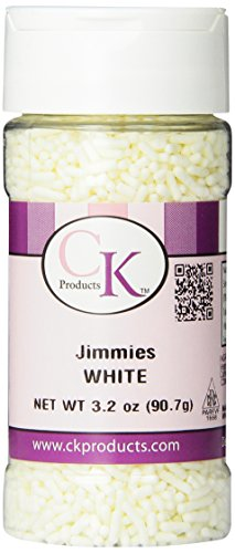 CK Products 3.2 Ounce Jimmies/Sprinkles Bottle, White for $<!--$3.00-->