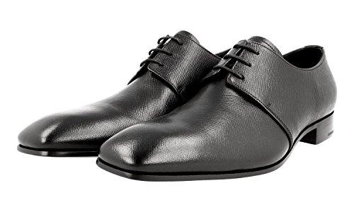 Prada Mens 2EA105 053 F0002 Saffiano Leather Business Shoes nKl8q