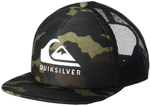 Quiksilver Boys' Big FOAMSLAYER Youth HAT, Camo, 1SZ (Little Boys Hat Quiksilver)