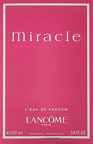 L A N C O M E Miracle Perfume for Women EDP 100 ml 3.4 Oz by Lancome ()
