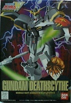 Bandai Hobby WF-03 Gundam Deathscythe 1/144, Bandai W-Series Action Figure (Gundam Wing 3)
