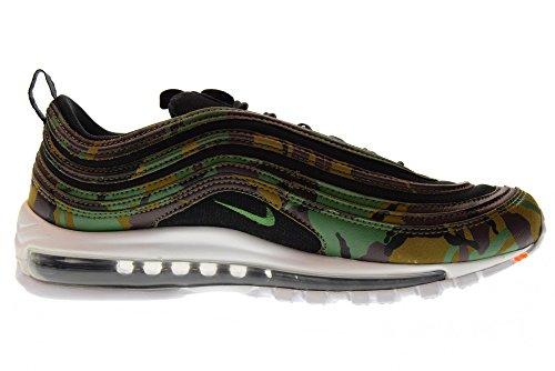 Nike Air Max 97 Premium Qs Schuhe Sneaker Neu Unisex Grezza Fortezza Verde Nero 201