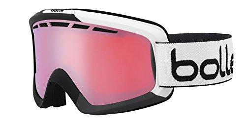 Bolle Nova II Googles, Matte Black/Grey/Vermillion - Bolle Modulator Ski Vermillion Goggles