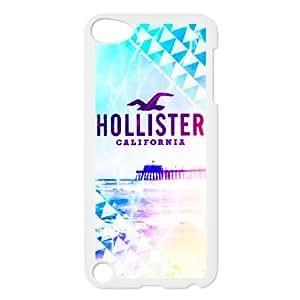 iPod Touch 5 funda Blanco [PC dura del caso + HD Pattern] Serie Hollister® [Numeración: JJJJDHKOS9617]