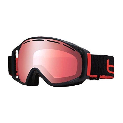 Bolle Gravity Goggles, Matte Black, Vermillon Gun - Goggles Gravity Bolle Ski