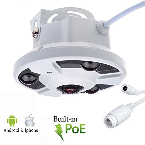 Panoramic Security Network FishEye waterproof product image