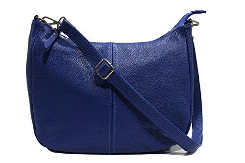 sac Plusieurs Coloris sac fanny sac bandouliere a cuir Italie fanny Bleu sac CHLOLY fanny Sac cuir cuir Roi Fanny main cuir fanny femme bandoulière qxwvY1XcSH