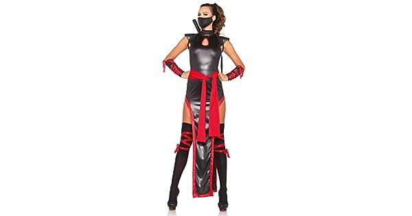 Amazon.com: Leg Avenue – Disfraz de ninja de las ...