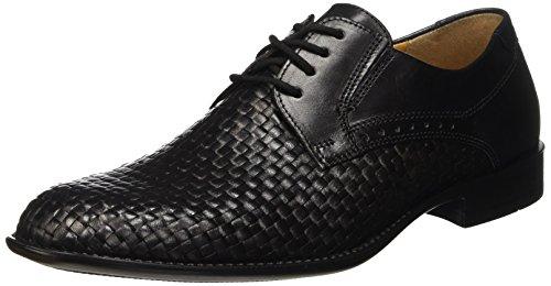 FRETZ men Tosco - Zapatos de cordones derby Hombre Negro - Schwarz (51 noir)