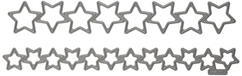 QUICKUTZ Lifestyle Crafts Stars Punches Cookie Cutter Die Set