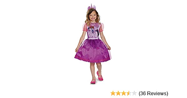 Amazon Disguise My Little Pony Child Costume Twilight Sparkle Toys Games