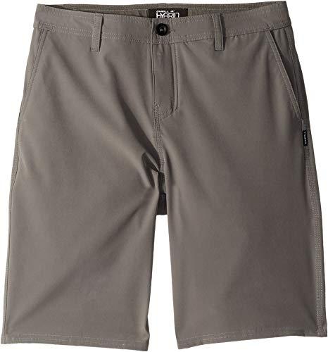 O'Neill Kids Boy's Reserve Solid Shorts (Big Kids) Grey 27 (Big ()