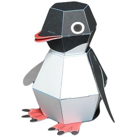 Kamikara Penguin POP! Action Paper Craft kit by Haruki Nakamura -