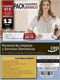 Personal de limpieza y servicios domésticos Castilla-La Mancha - Pack Libros